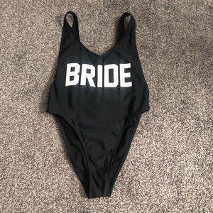 Bride swimsuit
